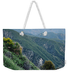 Weekender Tote Bag featuring the photograph Rim O' The World National Scenic Byway II by Kyle Hanson