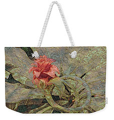 Ring Around The Posy Weekender Tote Bag by Kathie Chicoine
