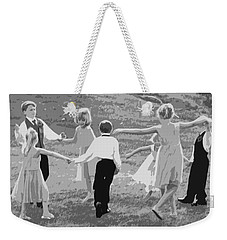 Weekender Tote Bag featuring the photograph Ring Around The Rosy by Colleen Coccia