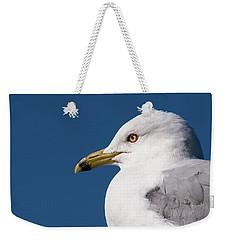 Ring-billed Gull Portrait Weekender Tote Bag