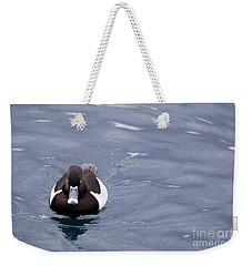 Ring-necked Duck Weekender Tote Bag by Afrodita Ellerman