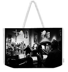 Ring Of Faith Weekender Tote Bag by Frank J Casella