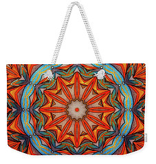 Ring Of Fire Weekender Tote Bag by Mo T
