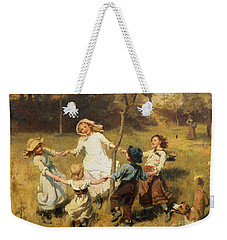 Ring Of Roses Weekender Tote Bag by Frederick Morgan