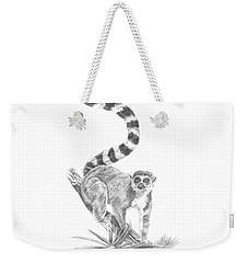 Ring-tailed Lemur Weekender Tote Bag