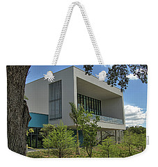 Weekender Tote Bag featuring the photograph Ringling College Of Art And Design Library - Image 1 by Richard Goldman