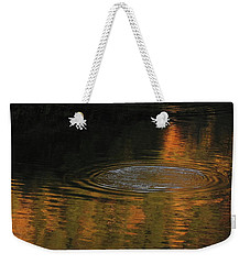Rings And Reflections Weekender Tote Bag by Suzy Piatt