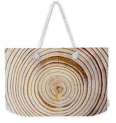 Rings Of A Tree Weekender Tote Bag