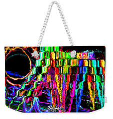 Weekender Tote Bag featuring the photograph Rings Of Fire by Barbara Tristan