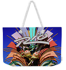 Rio Casino Sign In The Day Weekender Tote Bag by Aloha Art