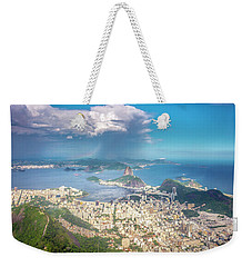 Weekender Tote Bag featuring the photograph Rio De Janeiro by Andrew Matwijec