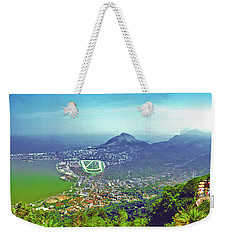 Rio De Janeiro Brazil Panorama Weekender Tote Bag