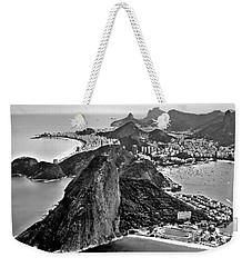 Rio De Janeiro - Sugar Loaf, Corcovado And Baia De Guanabara Weekender Tote Bag