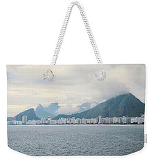 Rio De Janeiro Shoreline Weekender Tote Bag