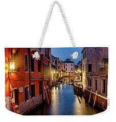 Weekender Tote Bag featuring the photograph Rio Di San Vio by Fabrizio Troiani