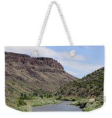 Rio Grande Del Norte Weekender Tote Bag