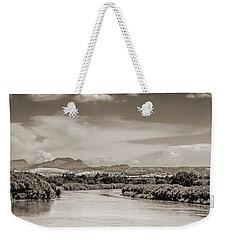 Rio Grande In Sepia Weekender Tote Bag