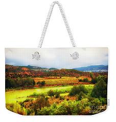 Rio Grande New Mexico Weekender Tote Bag