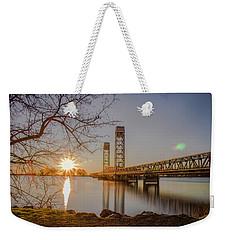 Rio Vista Morning Weekender Tote Bag