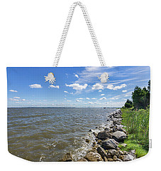 Rip-rap On The Chester River Weekender Tote Bag