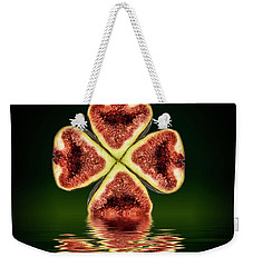 Weekender Tote Bag featuring the photograph Ripe Juicy Figs Fruit by David French
