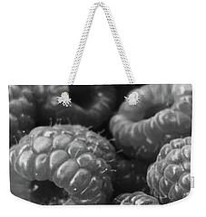 Ripe Organic Raspberries Weekender Tote Bag