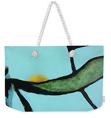 Weekender Tote Bag featuring the painting Ripening I by Mary Sullivan