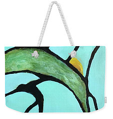 Weekender Tote Bag featuring the painting Ripening II by Mary Sullivan