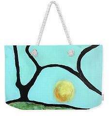 Weekender Tote Bag featuring the painting Ripening IIi by Mary Sullivan