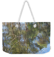 Weekender Tote Bag featuring the photograph Ripple Effect by Kathi Mirto