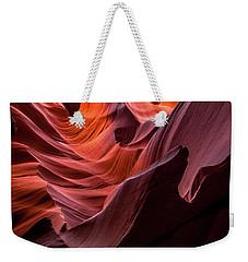 Ripple Of Color Weekender Tote Bag