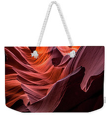 Ripple Of Color Weekender Tote Bag