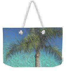 Rippled Palm Weekender Tote Bag