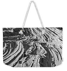 Rippled Sandstone At Waterhole Canyon Weekender Tote Bag
