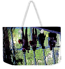Ripples Weekender Tote Bag by David Gilbert