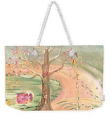 Ripples Of Spring Weekender Tote Bag