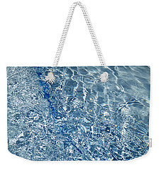 Weekender Tote Bag featuring the photograph Ripples Of Summer by Robert Knight