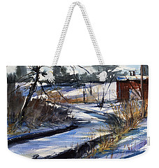 Rippleton Road River Weekender Tote Bag by Judith Levins