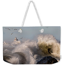 Weekender Tote Bag featuring the photograph Rise Above The Turbulence by Everet Regal