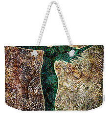Rise Of The Divine Feminine Weekender Tote Bag by Jaison Cianelli