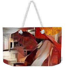 Rise Weekender Tote Bag by Ray Tapajna