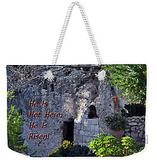 Risen Weekender Tote Bag by Lydia Holly