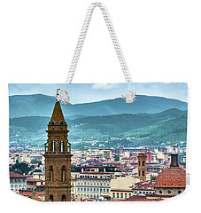 Rising Above The City Weekender Tote Bag