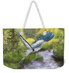 Rising Free Weekender Tote Bag