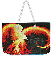 Rising From The Ashes Weekender Tote Bag