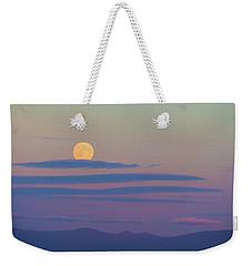 Rising Harvest Moon  Weekender Tote Bag