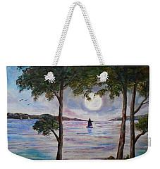 Rising Moon  Weekender Tote Bag
