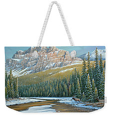 Rising Over The Valley Weekender Tote Bag