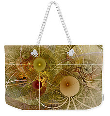 Rising Spring - Fractal Art Weekender Tote Bag by NirvanaBlues