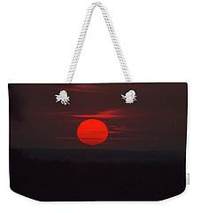 Rising Sun In Texas Weekender Tote Bag